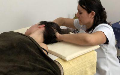 Massaggio della testa