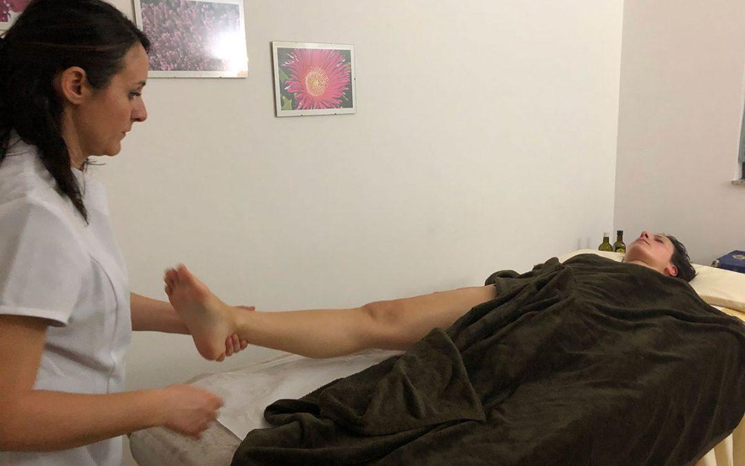 Momento del Massaggio Defaticante arti inferiori